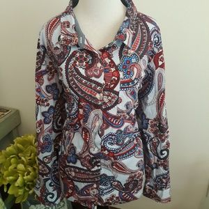 Paisley Tommy Hilfiger top